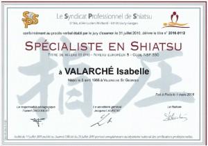 Spécialiste en shiatsu Atout Shiatsu Isabelle Valarché