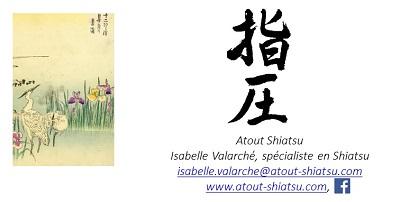 carte kdo Atout Shiatsu verso